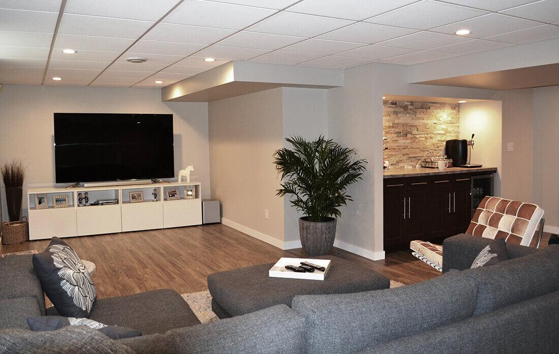 basement renovations vaughan